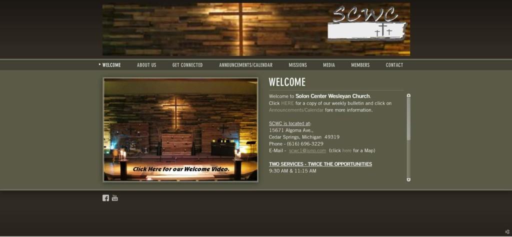 Solon Center Wesleyan Church web