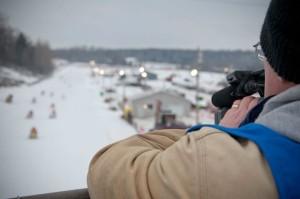 Michigan I 500 Snowmobile Race