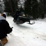 Saint-Ignace-Michigan-Snowmobile-Fun