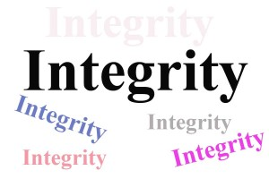 Integrity in business and personal life