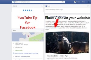 YouTube Video Facebook Tip