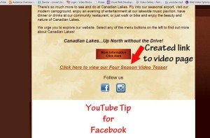 YouTube Video Facebook Website Tip
