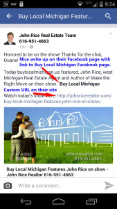 buy local michigan promotion tips facebook